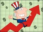 federal tax revenues rising