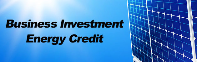 investment energy tax credit