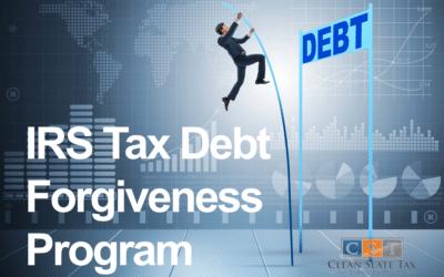 Why Should Individuals Consider The IRS Tax Debt Forgiveness Program?