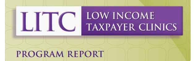 New TAS Report on the Low Income Taxpayer Clinic program