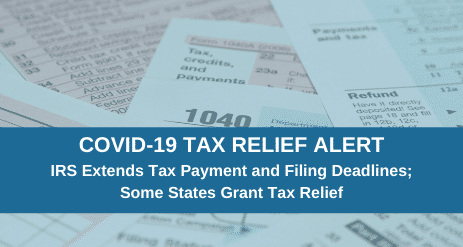 COVID-19 Tax Relief Measures for NY