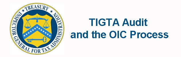 tigta offer in compromise